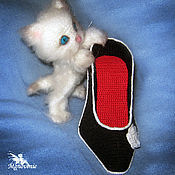 Куклы и игрушки handmade. Livemaster - original item Kitten in the Shoe. Handmade.