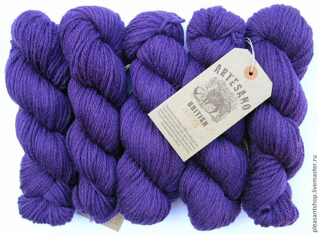 Artesano British Wool PURPLE, Пряжа, Москва,  Фото №1