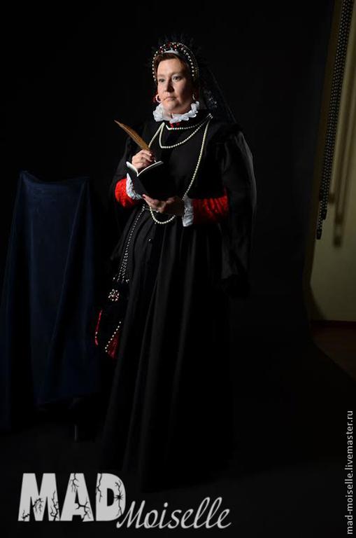 """Платья ручной работы. Ярмарка Мастеров - ручная работа. Купить Косплей для ролевой игры """"Ведьмак"""". Handmade. Платье, костюмная ткань"""