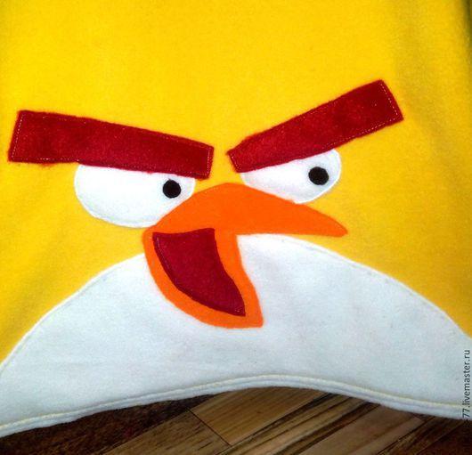 Карнавальные костюмы ручной работы. Ярмарка Мастеров - ручная работа. Купить Angry birds Чак. Handmade. Однотонный, Новый Год