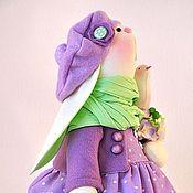 Куклы и игрушки ручной работы. Ярмарка Мастеров - ручная работа Sophie / Софи. Зайка в сиреневом. Handmade.