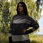 """Одежда ручной работы. Ярмарка Мастеров - ручная работа Кардиган """"Серый микс"""". Handmade."""
