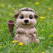 """Куклы и игрушки ручной работы. Ярмарка Мастеров - ручная работа Ежик """"Шёрстик"""". Handmade."""