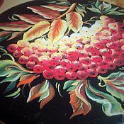 """Для дома и интерьера ручной работы. Ярмарка Мастеров - ручная работа Шкатулка """"Рябиновый мотив"""". Handmade."""