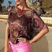 Одежда ручной работы. Ярмарка Мастеров - ручная работа Туника-блуза  Восточная сказка. Handmade.