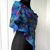 Аксессуары handmade. Livemaster - original item Emma - Felted scarf. Handmade.