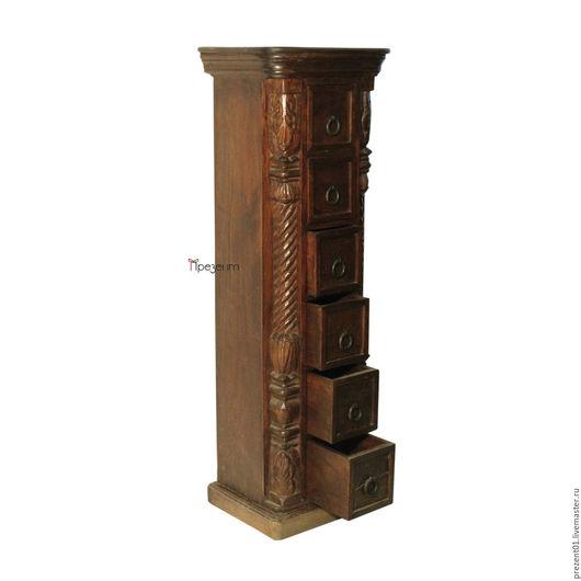 Мебель ручной работы. Ярмарка Мастеров - ручная работа. Купить Шкафчик из тика, арт. 4126. Handmade. Коричневый, мебель из дерева