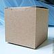 Упаковка ручной работы. Крафт коробка 7 х 7 х 7 см. Елена (handberry). Интернет-магазин Ярмарка Мастеров.
