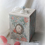 Для дома и интерьера handmade. Livemaster - original item Box storage