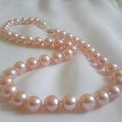 Украшения handmade. Livemaster - original item Pink pearl