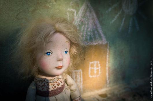 Коллекционные куклы ручной работы. Ярмарка Мастеров - ручная работа. Купить Марысенька. Handmade. Бежевый, livingdoll