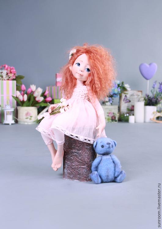 Коллекционные куклы ручной работы. Ярмарка Мастеров - ручная работа. Купить Мечты Николь. Handmade. Кукла, авторская кукла, оранжевый