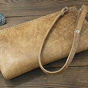 Сумки и аксессуары handmade. Livemaster - original item The clutch for the driver of genuine leather. Handmade.