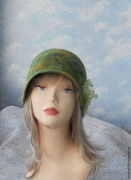 """Шляпы ручной работы. Ярмарка Мастеров - ручная работа. Купить шляпка """"Сентябрь"""". Handmade. Сентябрь, шляпка валяная, Шляпа валяная"""
