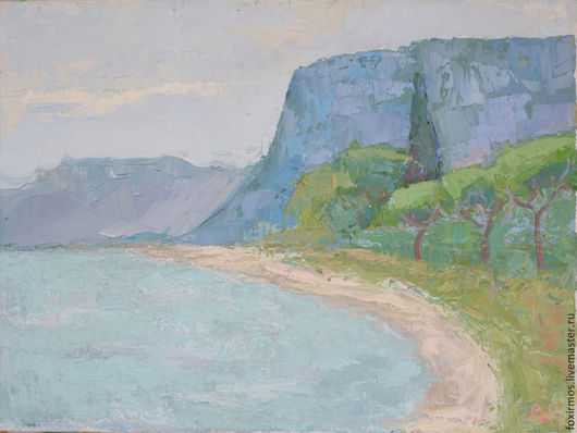 Дождливый летний день на берегу итальянского озера Гарда в местечке под названием Бардолино.