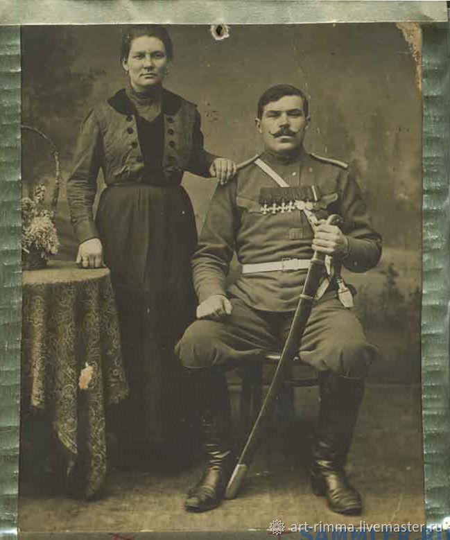 Портрет с фотографии георгиевск