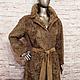 Верхняя одежда ручной работы. Ярмарка Мастеров - ручная работа. Купить Пальто из каракуля. Handmade. Бежевый, осень-зима, шуба