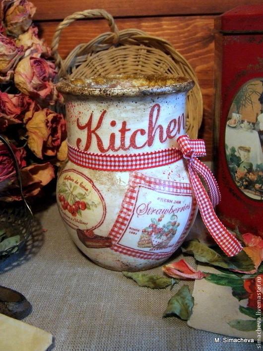 Кухня ручной работы. Ярмарка Мастеров - ручная работа. Купить Маленькая крынка Кухня. Handmade. Крынка, подарок на день рождения
