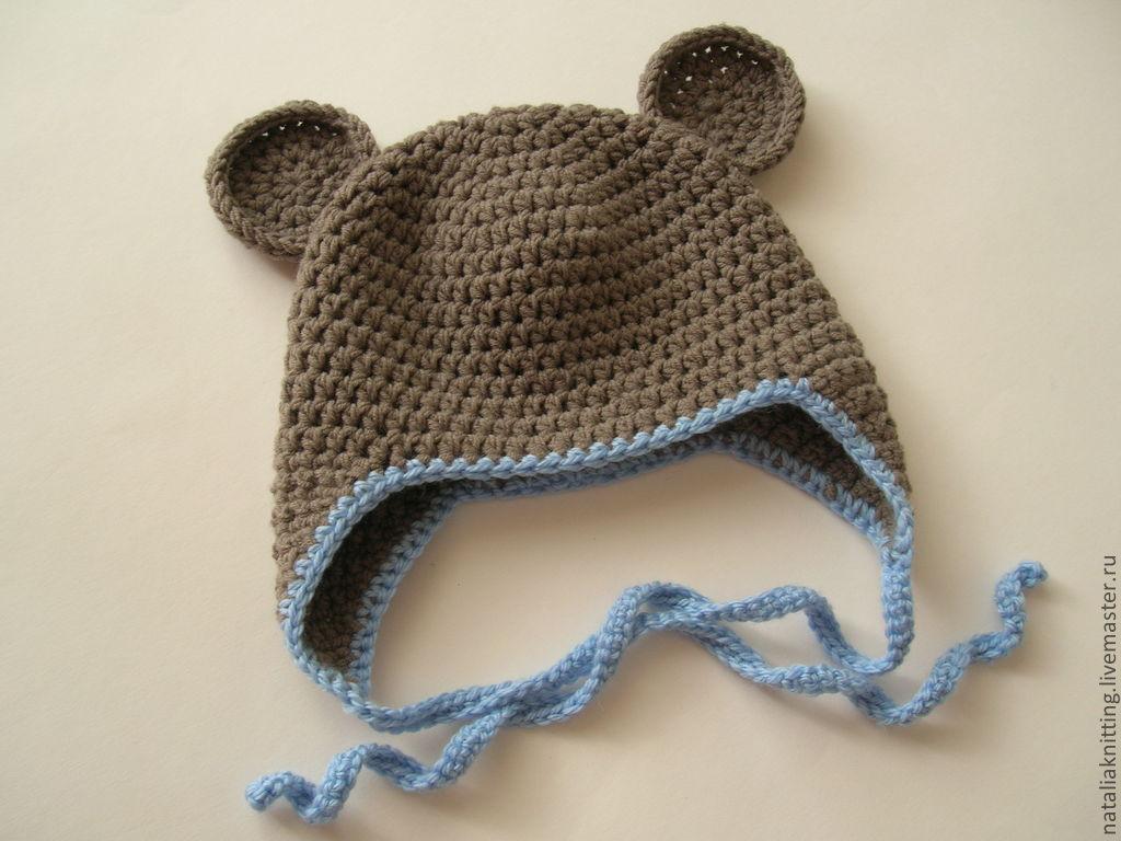 Мишки на шапках