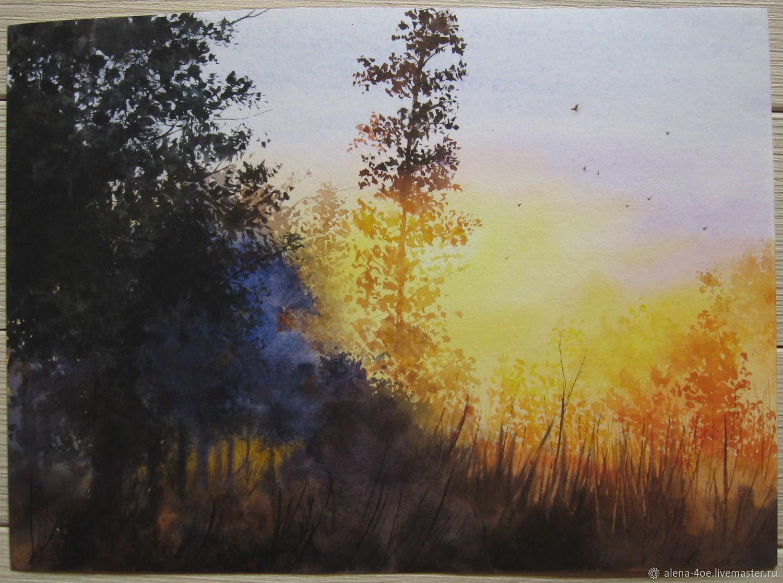 Утренний лес, Картины, Лесной,  Фото №1