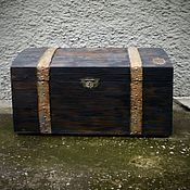 handmade. Livemaster - original item The chest is a large