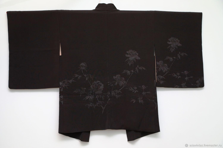 Винтаж: Кимоно-хаори шелк винтаж; Япония, Одежда винтажная, Балашиха,  Фото №1