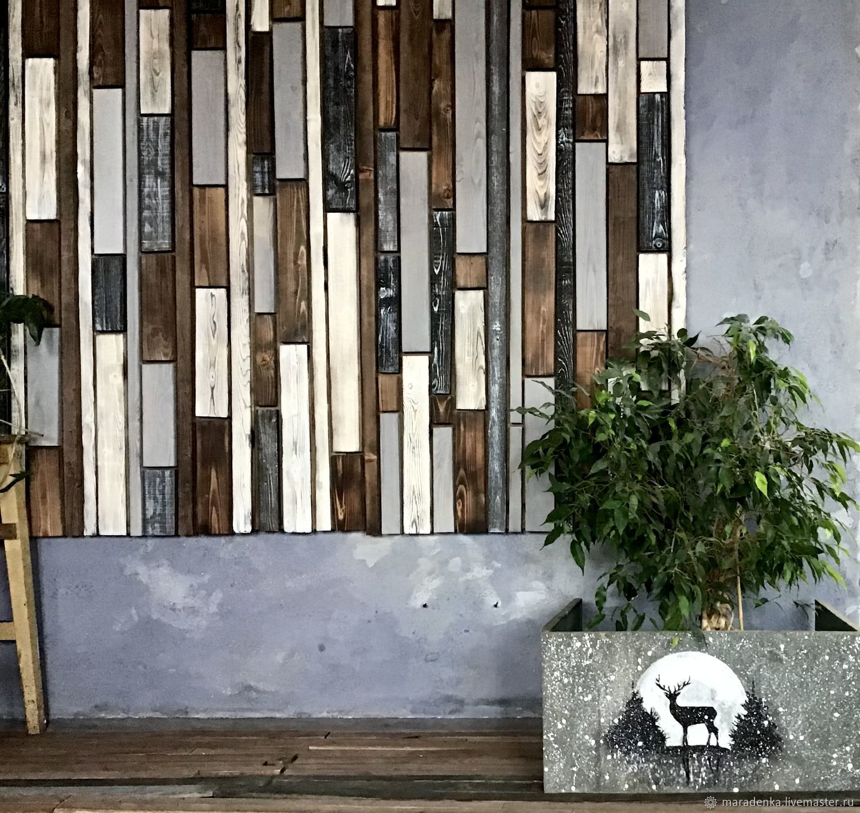 Wall panel loft. Panel wooden Loft, Panels, Moscow,  Фото №1