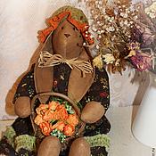 Куклы и игрушки ручной работы. Ярмарка Мастеров - ручная работа Зайка винтажная Бруна.. Handmade.