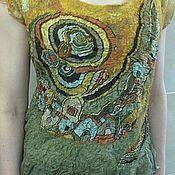 Одежда ручной работы. Ярмарка Мастеров - ручная работа Туника Лабиринт. Handmade.