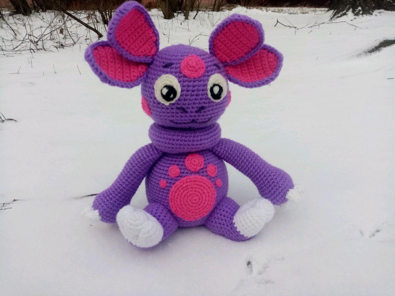 Вязаная игрушка Необычный малыш, Мягкие игрушки, Балашиха,  Фото №1