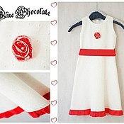 Работы для детей, ручной работы. Ярмарка Мастеров - ручная работа Винтажное платье для девочки English Provence. Handmade.