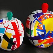 Для дома и интерьера handmade. Livemaster - original item Interior arrangement wooden Apples Russian avant-garde, Malevich. Handmade.