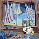 Животные ручной работы. Ярмарка Мастеров - ручная работа. Купить панно Сон. Handmade. Панно, панно на шёлке, роспись по шелку