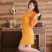 Одежда ручной работы. Ярмарка Мастеров - ручная работа Платье теплое зимнее меховое платье из меха. Handmade.