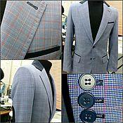 Одежда ручной работы. Ярмарка Мастеров - ручная работа Пиджак мужской. Handmade.