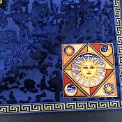 Фен-шуй и эзотерика handmade. Livemaster - original item Tablecloth for divination 67h67 cm. velvet. Handmade.