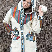 Одежда ручной работы. Ярмарка Мастеров - ручная работа Пальто 14 WJ07. Handmade.
