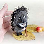 handmade. Livemaster - original item Little hedgehog in the fog. Handmade.