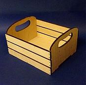 Материалы для творчества ручной работы. Ярмарка Мастеров - ручная работа Ящик реечный. Handmade.
