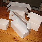 Коробки ручной работы. Ярмарка Мастеров - ручная работа Самосборные коробки с ушками из микрогофрокартона. Handmade.