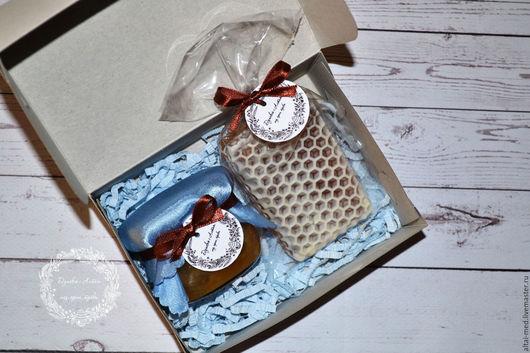 Персональные подарки ручной работы. Ярмарка Мастеров - ручная работа. Купить Небесная лазурь 2 - подарочный набор. Handmade.