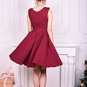 Одежда handmade. Livemaster - original item dress Cherry. Handmade.