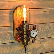 Для дома и интерьера handmade. Livemaster - original item Wall lamp handmade