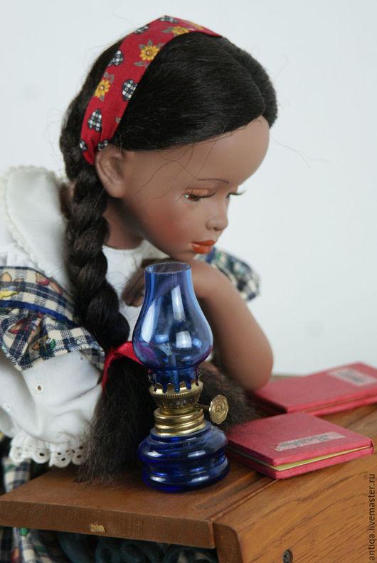 Винтажные куклы и игрушки. Ярмарка Мастеров - ручная работа. Купить Винтажная кукла Салли. Handmade. Коричневый, текстиль