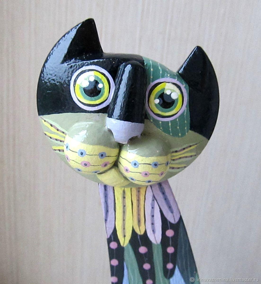 Лесной кот Мартин, Народные сувениры, Балабаново,  Фото №1