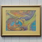 Картины и панно ручной работы. Ярмарка Мастеров - ручная работа живопись на воде 1. Handmade.