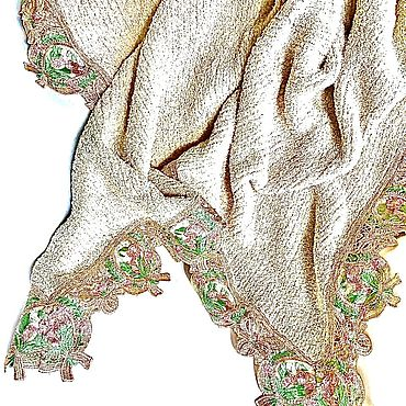 Текстиль ручной работы. Ярмарка Мастеров - ручная работа Плед - покрывало Утренняя свежесть. Handmade.