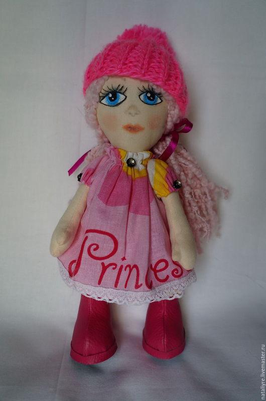 Коллекционные куклы ручной работы. Ярмарка Мастеров - ручная работа. Купить Татьянка. Handmade. Комбинированный, подарок на день рождения, бязь