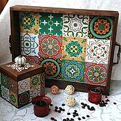 Для дома и интерьера handmade. Livemaster - original item Coffee set