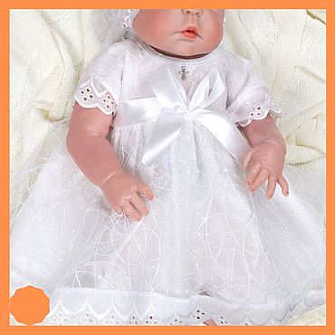Works for children handmade. Livemaster - original item Set for christening